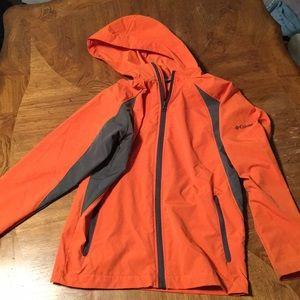 Columbia orange jacket